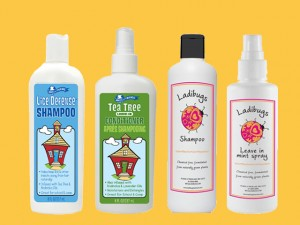 Circle of Friends and Ladibugs Lice defense products